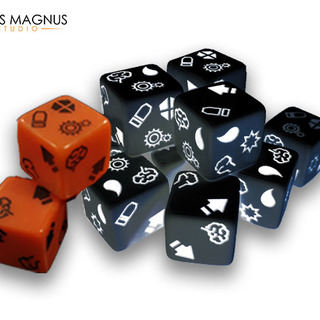 Dice black legacy square thumb