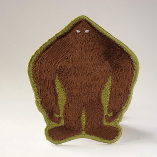 Sasquatch silhouette patch 1024x768 legacy square thumb