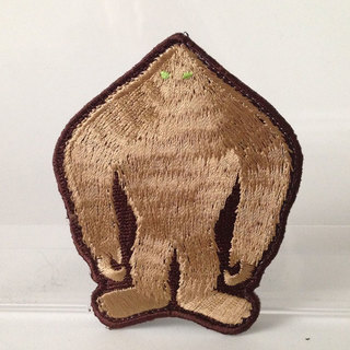 Grassman silhouette embroidered patch full legacy square thumb