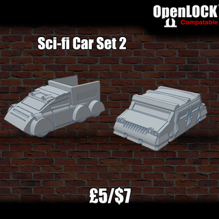 Preorder 28mm Modular Sci-fi Buildings & Scenery - OpenLOCK on BackerKit