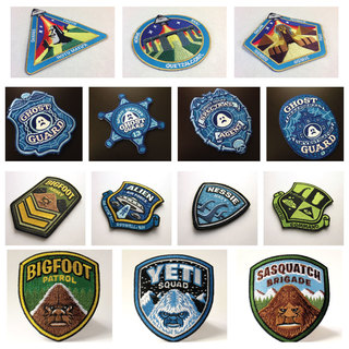 Paranormal forces patch set legacy square thumb