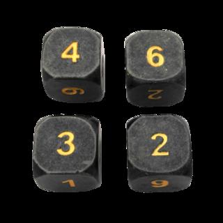 Gunmetal w gold 4d6 grande legacy square thumb