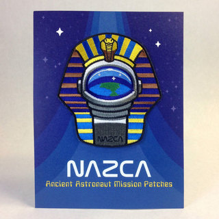 Nazca patches display card pharaoh astronaut legacy square thumb