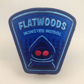 Flatwoods monster patch legacy square thumb