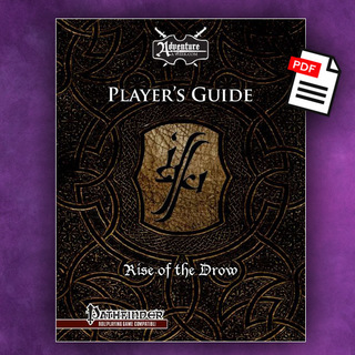 Rise of the drow player guide pf  pdf  legacy square thumb