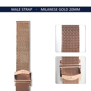 Milanese gold20mm3 legacy square thumb