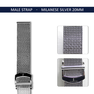 Milanese silver20mm3 legacy square thumb