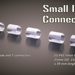 5 small pack inner connectors legacy square thumb