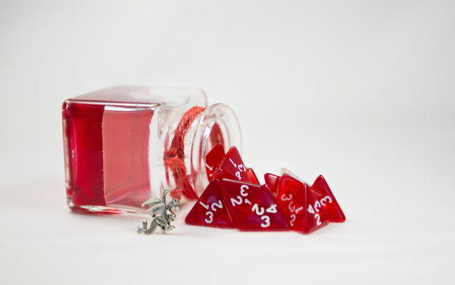 Preorder Fun Enhancing, Versatile D&D5E Healing Potion Dice