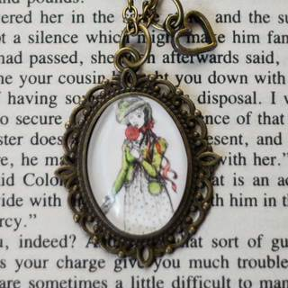 Necklace lydia legacy square thumb