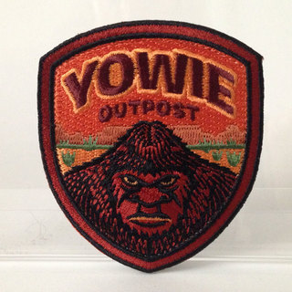 Yowie outpost embroidered patch full legacy square thumb