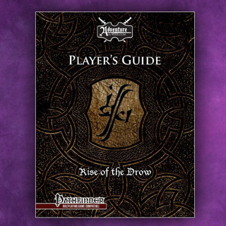 Rise of the drow player guide pf  print  legacy square thumb