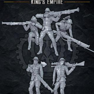 16 tos mini ke royal rifle corps legacy square thumb