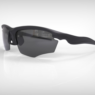 Falcon elite black frame grey lens legacy square thumb
