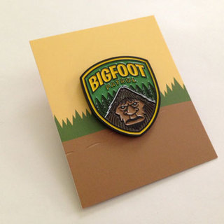 Bigfoot patrol enamel pin preview legacy square thumb