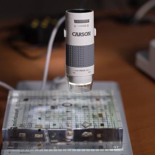 Carson microscope square legacy square thumb