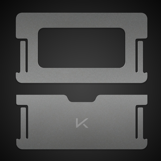 Titanium 20end plates legacy square thumb