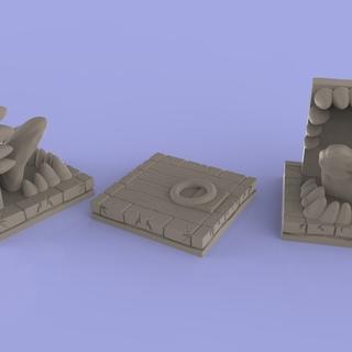 Trapdoorpanel legacy square thumb