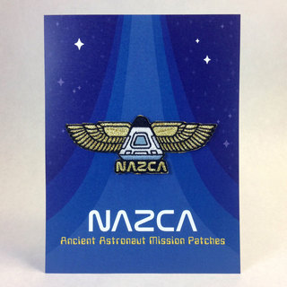 Nazca patches display card winged capsule legacy square thumb