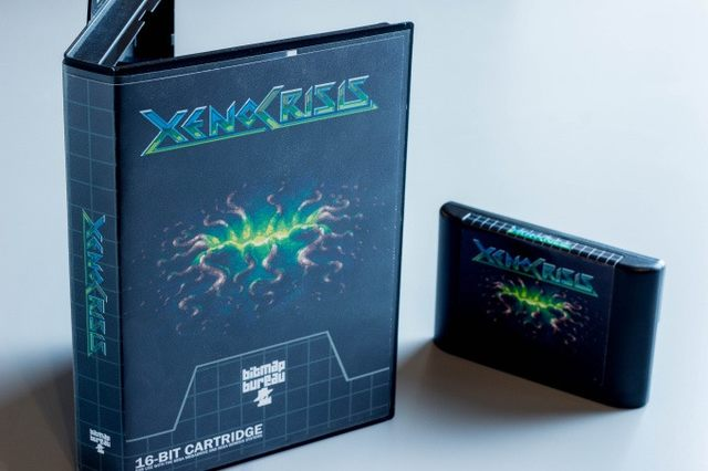Preorder Xeno Crisis: a new game for the Sega Genesis / Mega Drive