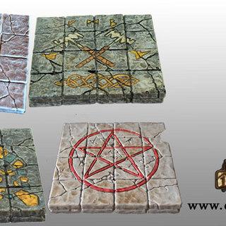 4x4 floor tile set legacy square thumb
