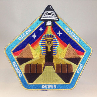 Nazca ancient astronaut space mission patch sphinx central sq legacy square thumb