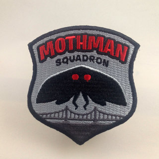 Mothman squadron patch legacy square thumb