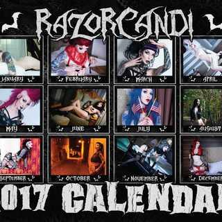 Razorcandi 2017 calendar back cover legacy square thumb