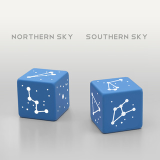 Constellation dice nord sud coppia legacy square thumb