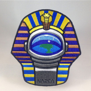 Nazca ancient astronaut space mission patch pharaoh astronaut sq legacy square thumb