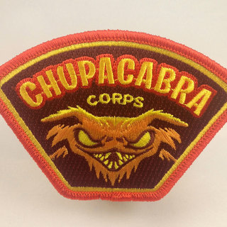 Chupacabra corps patch legacy square thumb