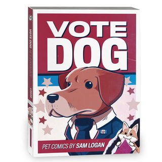 Vote dog softcover legacy square thumb