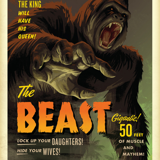 Campycreatures prints the 20beast legacy square thumb