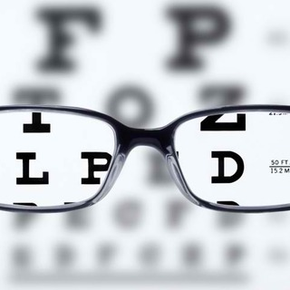 Types of eyeglasses lenses on reading chart legacy square thumb