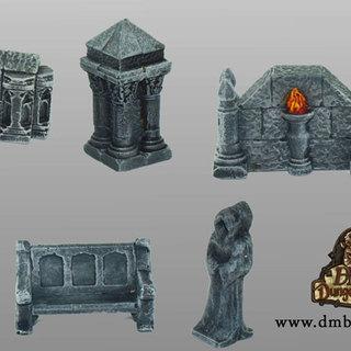 Gothic accessory set legacy square thumb
