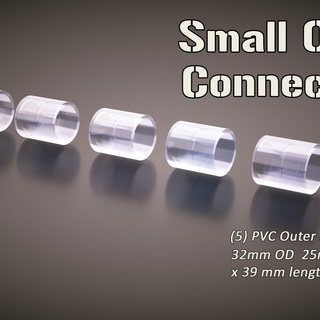 5 small pack outer connectors legacy square thumb