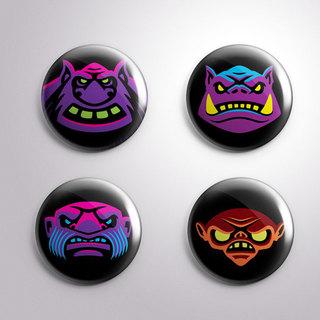Legendary legion button mockup legacy square thumb