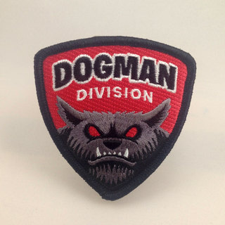 Dogman division patch legacy square thumb