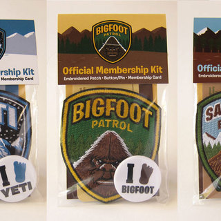 Bigfoot patrol yeti squad sasquatch brigade kits 3up legacy square thumb