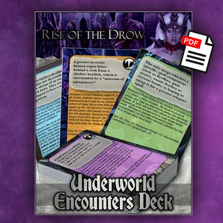 Rise of the drow underworld encounter deck pf  pdf  legacy square thumb