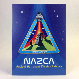 Nazca patches display card easter island outpost legacy square thumb