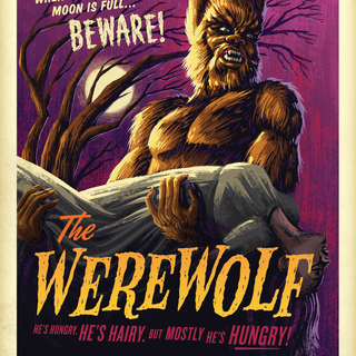 Campycreatures prints the 20werewolf legacy square thumb