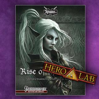 Rise of the drow pf  hero 20lab  legacy square thumb