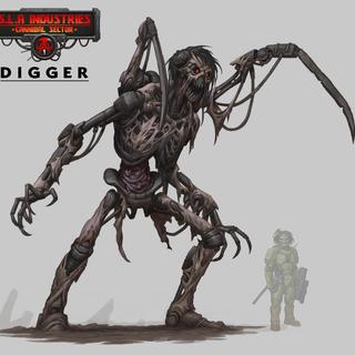 Digger legacy square thumb