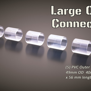 5 large pack outer connectors legacy square thumb