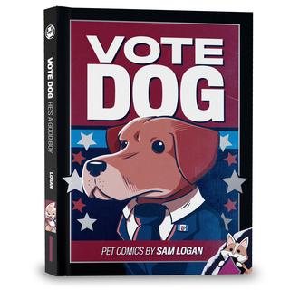 Vote dog hardcover legacy square thumb