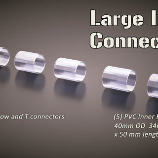 5 large pack inner connectors legacy square thumb