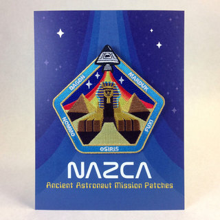 Nazca patches display card sphinx central legacy square thumb
