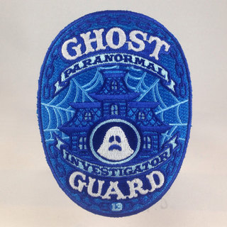 Ghost guard patch paranormal investigator haunted house new legacy square thumb