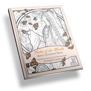 Ladies of the months coloring book   basic book image legacy square thumb